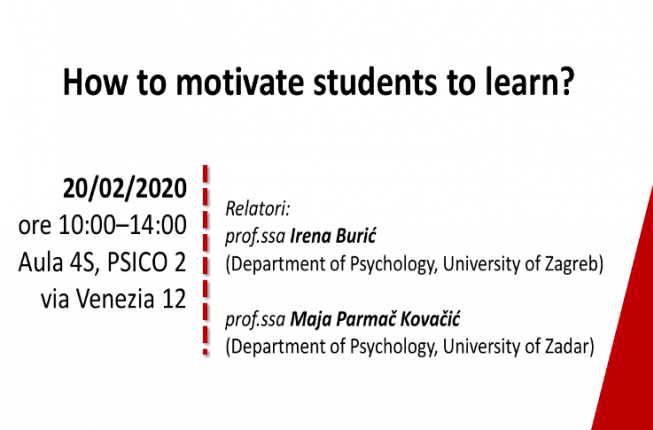 Collegamento a How to motivate students to learn?